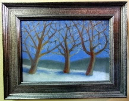 Richard Titus Oil on Wood Panel