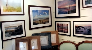 Pat McCarthy photographs our beautiful beaches. His work is on display through the summer.