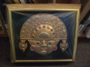 Mask in shadowbox.