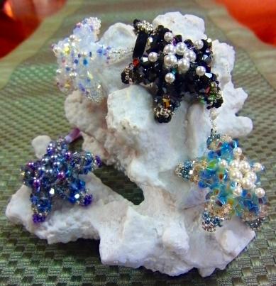 Lucy Bacon Originals - starfish pendants