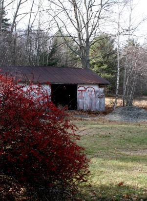 Barn left over from the old amusement park