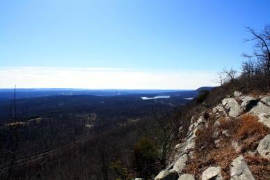 Southeastward view from the ridge.